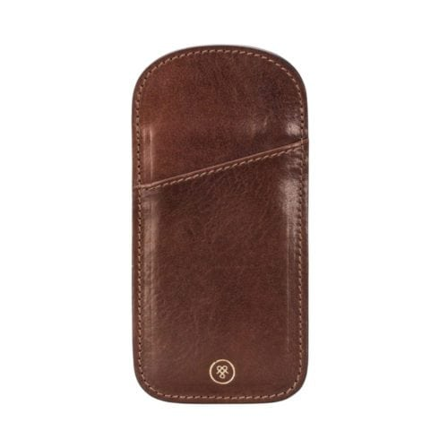 61ce48e7d66 The Rufeno - Slim Leather Glasses Case for Men and Women