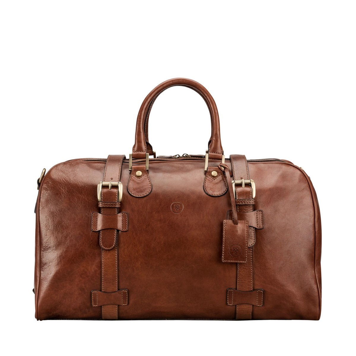 bf2236b173bf The FleroM - Medium Mens Leather Duffel Bag