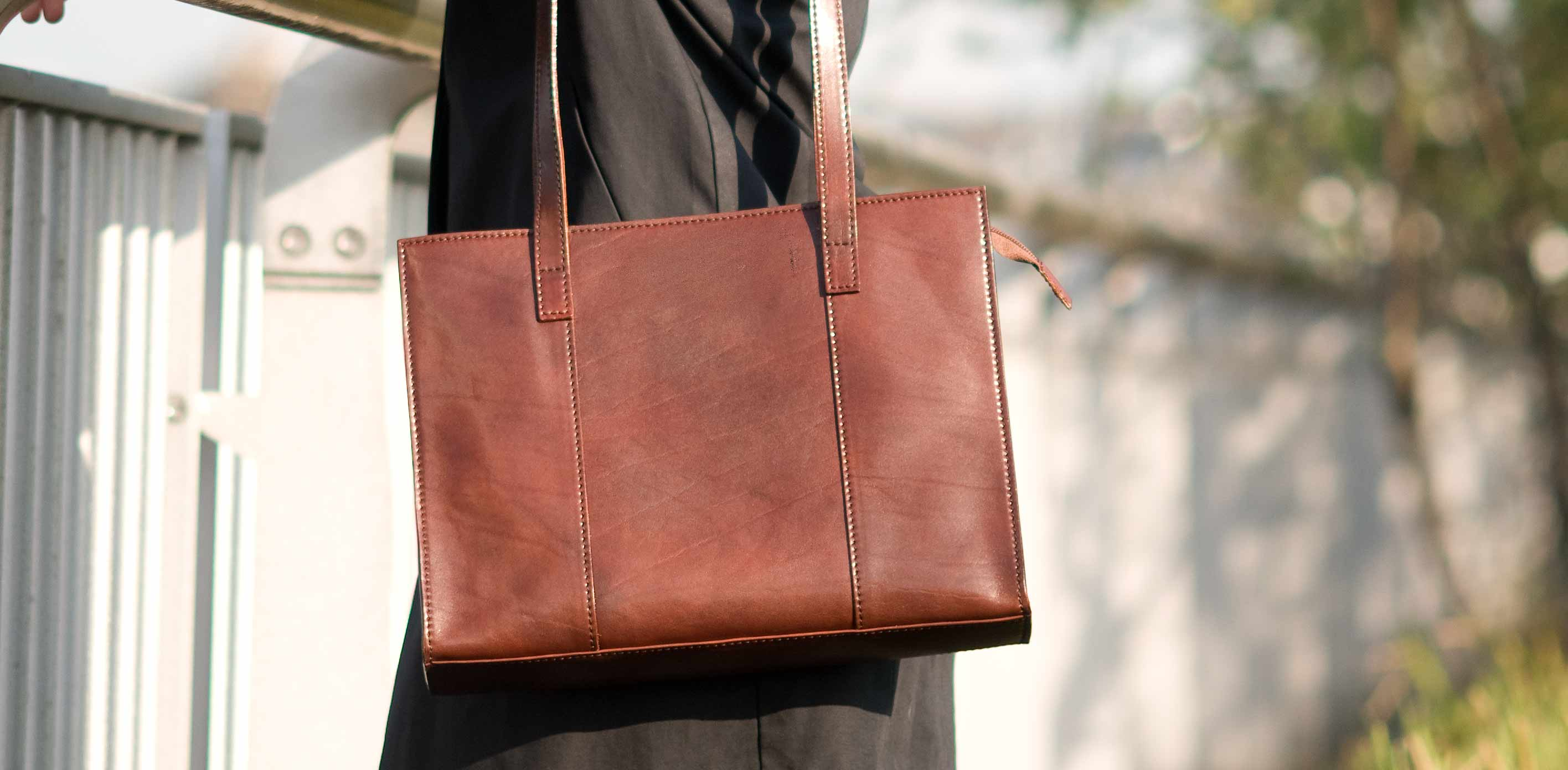 The Scala - Classic Ladies' Leather Tote Bag